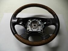 03 04 05  2004 JAGUAR X-TYPE WOODGRAIN STEERING WHEEL 3X433599