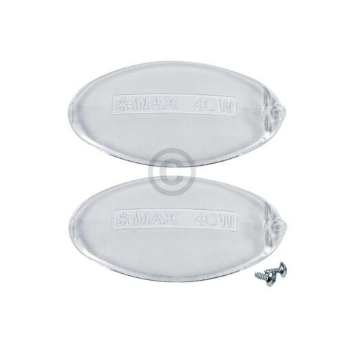 6,13 €//Stk Lampenabdeckung wie Electrolux 5024879600//0 oval für Dunstabzugshau