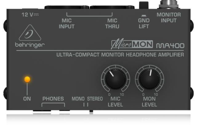 BEHRINGER MA400 Monitor Auriculares Behringer MA-400 Und.