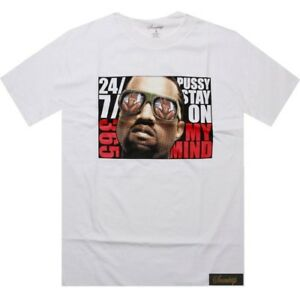 $34.99 Sneaktip KW Sunglass 24 7 365 Tee (white) Kanye West shirt SP180711WHT