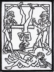 Inquisition-Patch-Torture-woodcut-religion-witchcraft-witch-occult-inquisitor