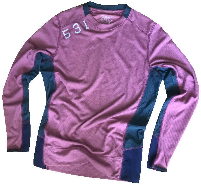 PAUL SMITH 531 LIGHTWEIGHT BREATHABLE CYCLING LONG SLEEVED TOP SZ-S NEW RARE