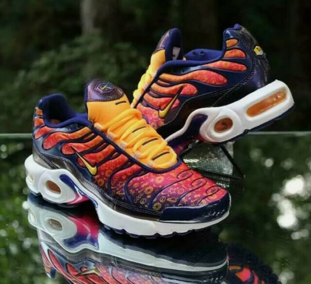 Nike Air Max Plus Purple Laser Orange Girls Size 5.5y Ci9932 500 ...