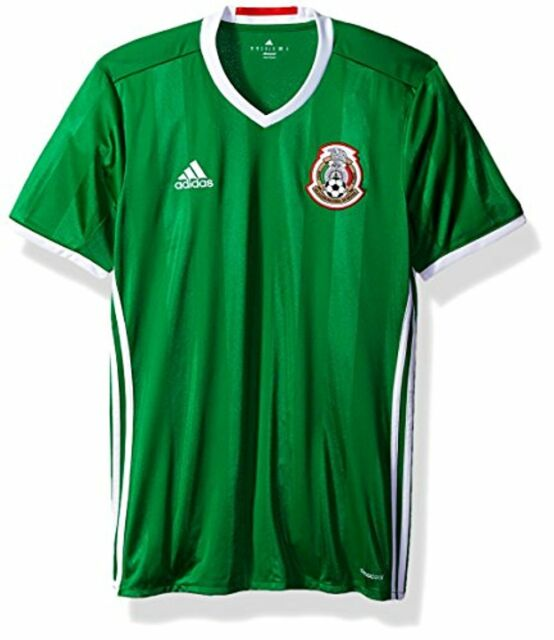 888761804 $90 International Soccer Mexico Men's Jersey, 3X-Large, Green/Red/White