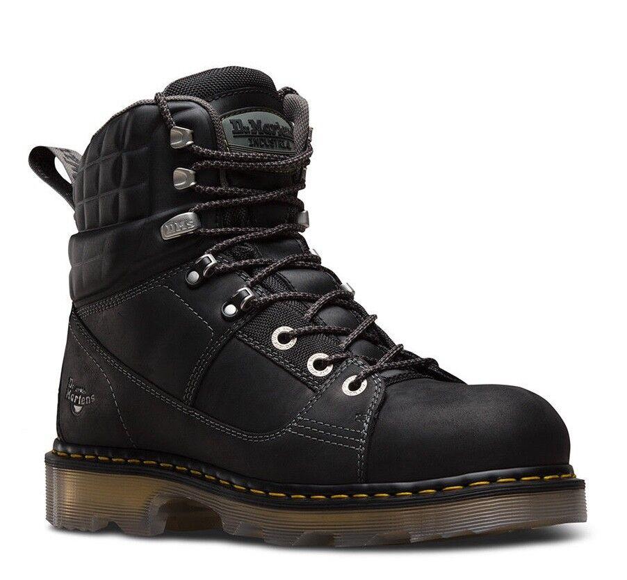 compra meglio Dr. Dr. Dr. Martens 6  Camber Steel Toe EH nero Leather Industrial Work stivali 22655001  il prezzo più basso