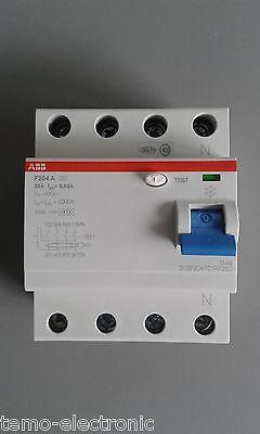 ABB - FI-Schalter - FI-Schutzschalter 2/4 polig - F202/F204