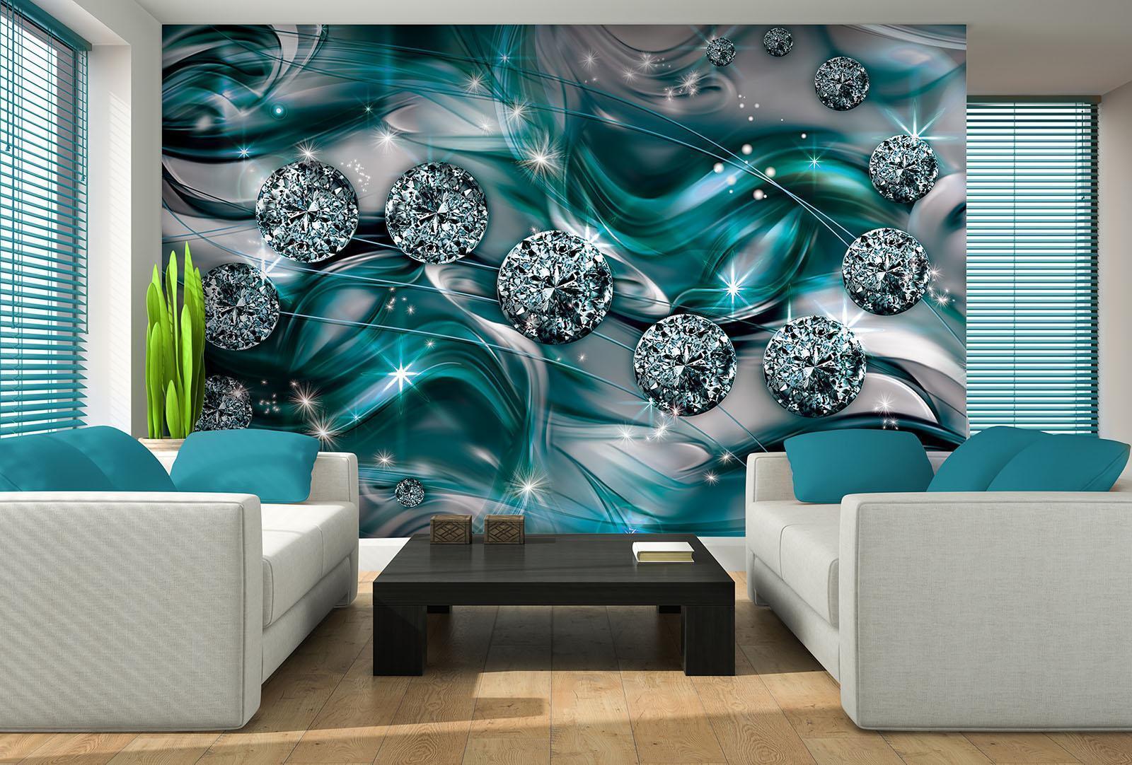 Vließ Fototapete Tapete Wandbild Photo Wallpaper Mural Diamant Abstraktion 10578