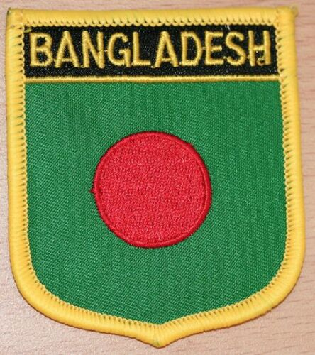 Bangladesh Shield Country Flag Embroidered PATCH Badge P1
