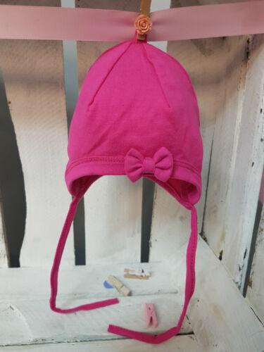 Baby Kids Girl Tie Up Cute Cotton Cap Hat Autumn Spring Newborn