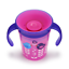 Munchkin Miracle 360 Degrees Deco Trainer Cup 6 oz//177 ml Pink Bird