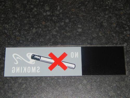 VC10 Aircraft No Smoking Label, Part No. 110142-4695, 13.3 x 3.5cm [1R10D]