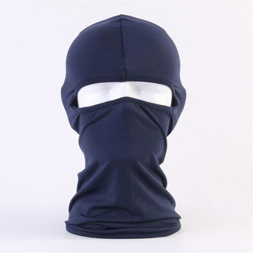 Unisex Winter Warmer Thermal Fleece Balaclava Ski Face Mask Neck Helmet Hats UK