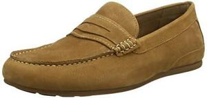 73cacdf1a11d3 mens aldo braon size 10 44 tan light brown real leather loafers casual ...