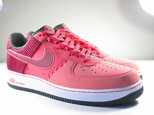 newest collection aa46b 43a26 Image is loading DS-NIKE-2013-AIR-FORE-1-FUSION-RED-