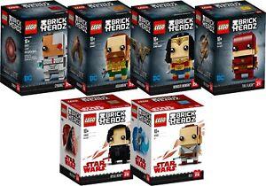 LEGO Brick Headz Full Set 41603 41602 41601 41600 41599 41598 N2/18