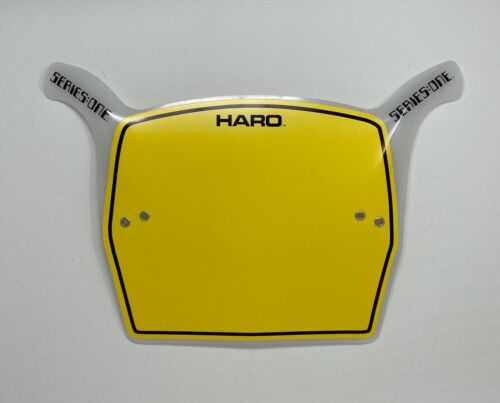 Haro Style Series One BMX Number Plates