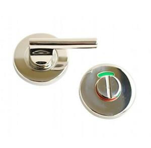 Steel Disabled Indicator Bolt Bathroom Thumbturn Turn Release Toilet Door Loc