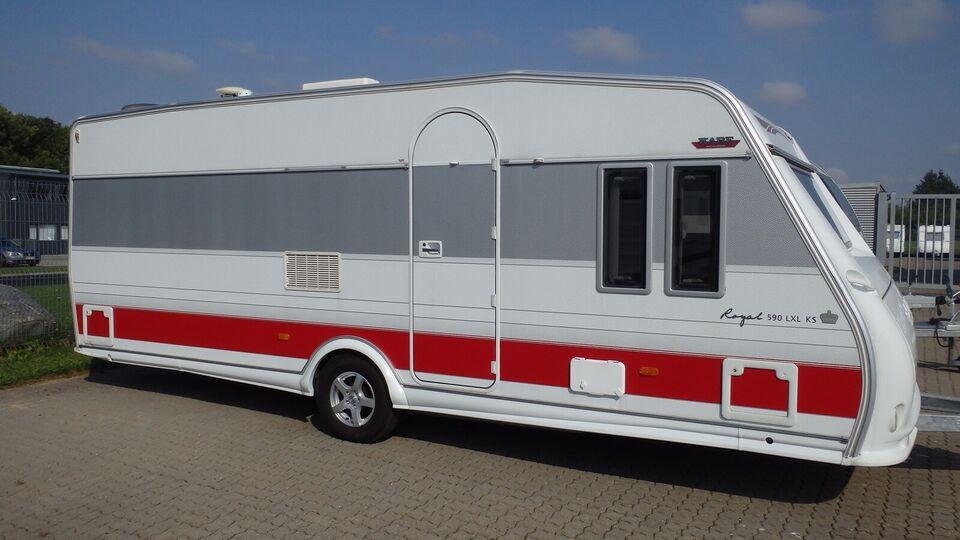 Kabe Kabe Royal 590LXL KS, 2012, 1560 kg egenvægt