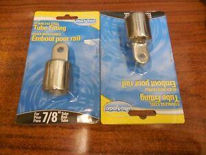 "MARPAC 7-0194 Stainless Steel 7//8/"" Tube Fitting for Bimini top cap Pair"