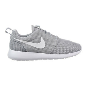 Details about Nike Roshe One Men's Shoes Wolf Grey-White 511881-023