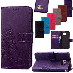 Thin Leather Card Wallet Shockproof Case Cover For Samsung Galaxy S7 S6 Edge S5