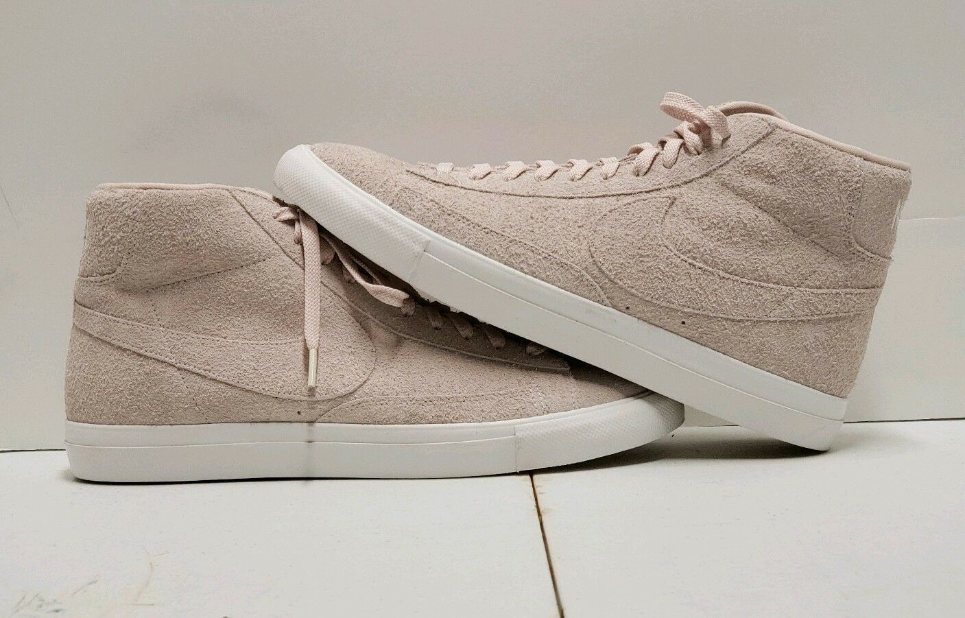 Nike Blazer Suede Mid Silt Red White Sz. 11.5  Brand New