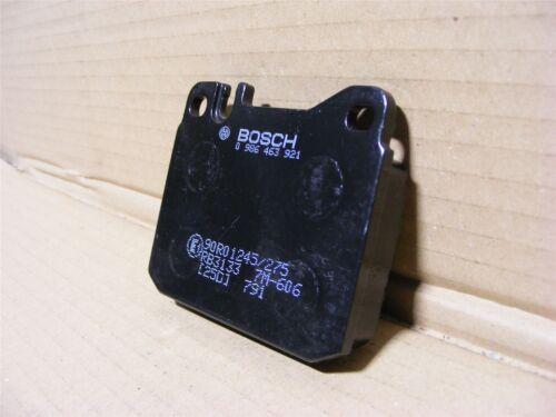 W123 W126 W108 Mercedes 0014207820 Bosch Disc Brake Pads x 4 New Old Stock