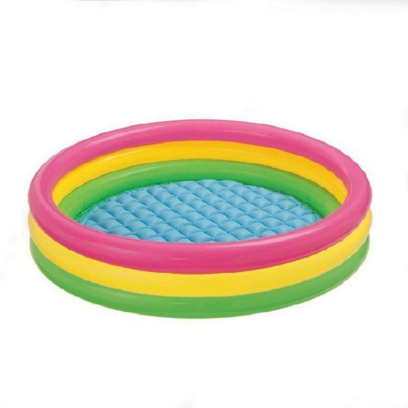 Kids Water Play Outdoor Intex Inflatable Pool Baby Swimming Pool Portable Swim