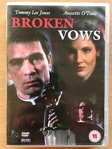 Broken-Vows-DVD-1987-Crime-Movie-Drama-w-Tommy-Lee-Jones-and-Annette-O-039-Toole