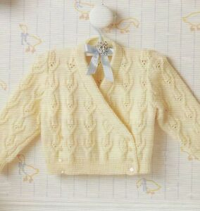 f148464fe Baby Girls Crossover Cardigan 16-22