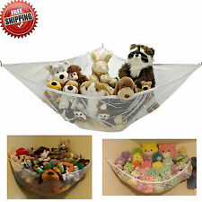 Jumbo Kids Toy Hammock Net Hanging Corner Storage Organizer Animals Stuffed Toys