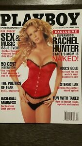 Vintage-April-2004-Playboy-Sex-amp-Music-issue-w-Rachel-Hunter-pictorial-NM