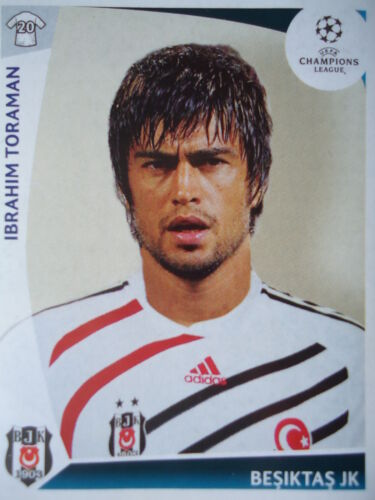 Panini 113 Ibrahim Torman Besiktas Istanbul UEFA CL 2009/10 Fußball