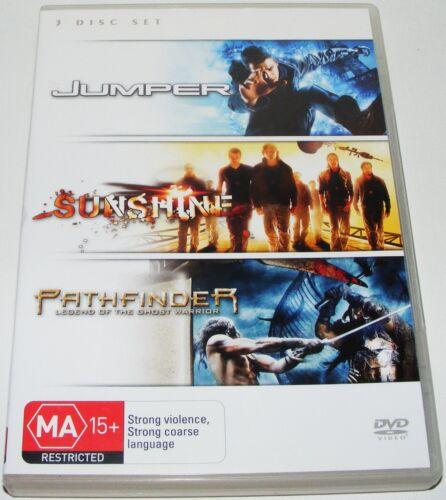 1 of 1 - JUMPER / SUNSHINE / PATHFINDER Legend Of The Ghost Warrior--- ( Dvd 3 Disc Set)