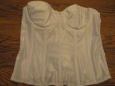 136da0efaa Dominique 38C Style 8950 white lightly padded bridal evening longline bra  NWOT