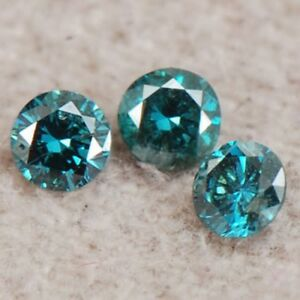 Natural-Blue-Color-0-15ct-Round-Shape-SI2-I2-Clarity-Certified-Loose-Diamond-Set