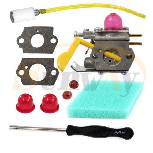 Carburetor For ZAMA C1U-W18 Poulan Weedeater 530071752 530071822 Tune up kit