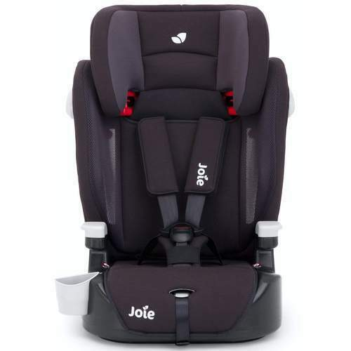 Joie Baby Elevate Group 1/2/3 Car Seat 3 in 1 Two Tone Black - NEW - OPENED BOX
