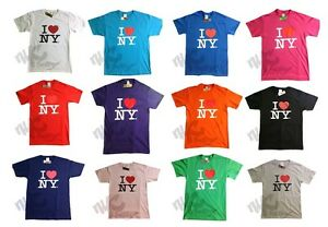 I HEART NY T-SHIRT LOVE NEW YORK CITY TEE OFFICIAL TAGS WHITE ...