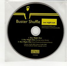 (GO267) Buster Shuffle, Our Night Out - 2009 DJ CD