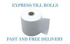 80x80mm Thermal Paper Till & Epos Printer Receipt Rolls: 20, 40, 60, or 80 Rolls