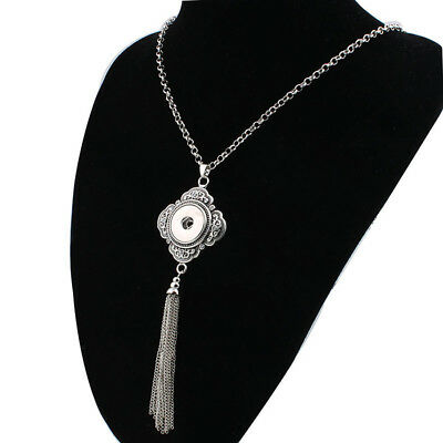 NEW  Crystal Alloy Pendant for Fit Noosa Necklace Snap Chunk Button A302