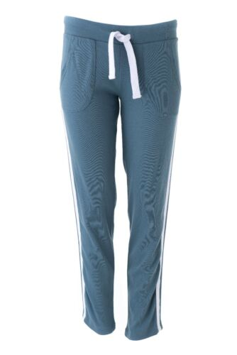 Louis /& sig RA Louisa HOMEWEAR Pantaloni petrolio con Bianco Strisce Tg XS-XXL Nuovo