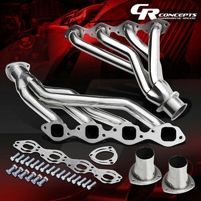 Shorty Stainless Steel Manifold Exhaust Header Fit CHEVY 366-454 BIG BLOCK BBC