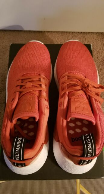 1f39fa113799 100% Authentic Brand New Adidas Originals NMD R2 Boost Harvest Red BY9915  sz 9.5
