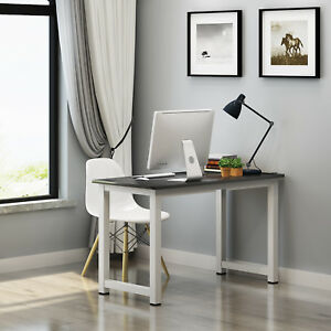 Wooden Computer PC Desk Home Office Writing Study Table Workstation 120×60×74cm