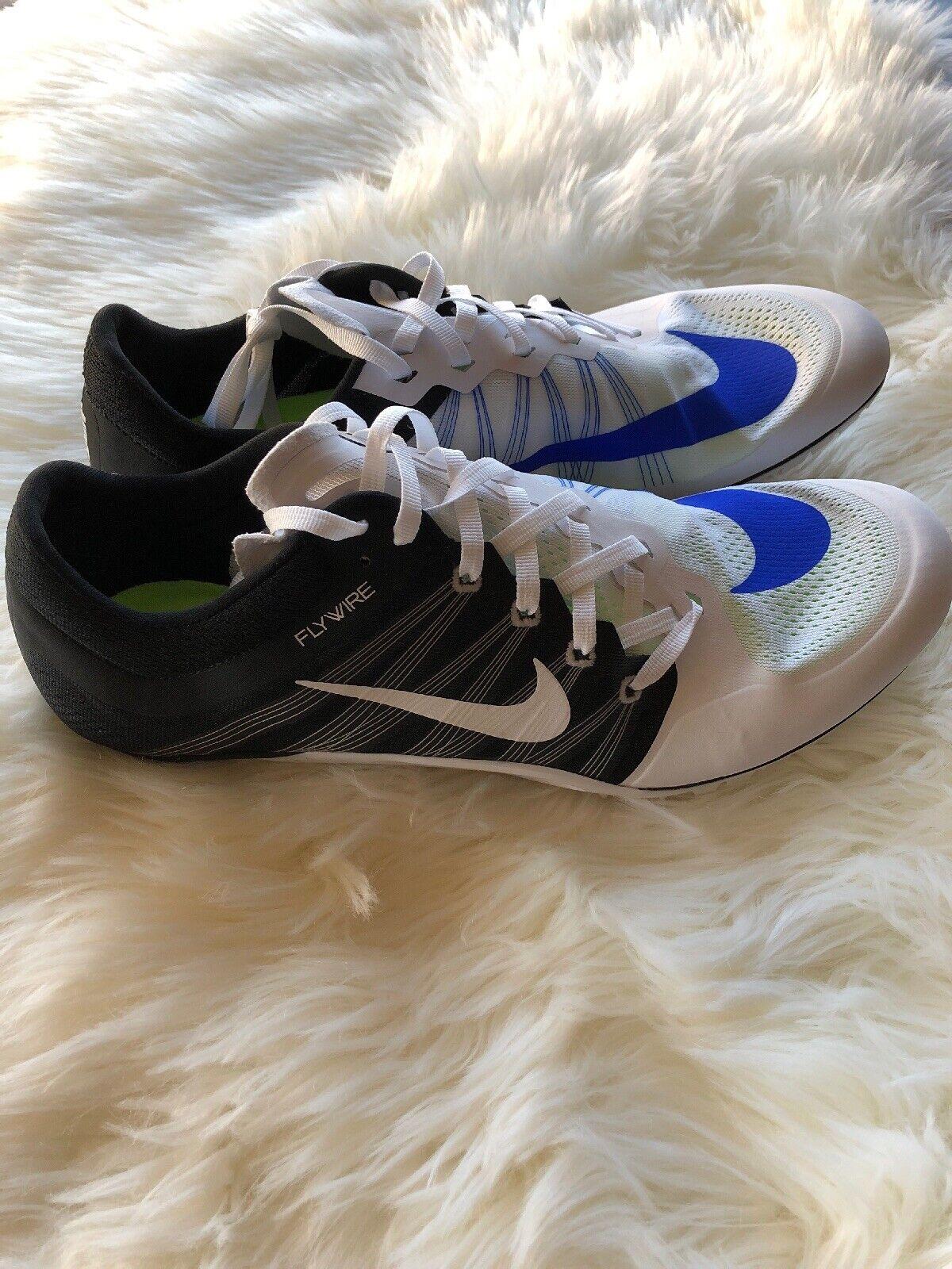 Nike zoom ja mosca 2 binari spuntoni bianco nero 705373-100 uomini e 13 nuovi | Facile Da Pulire Surface  | Sig/Sig Ra Scarpa