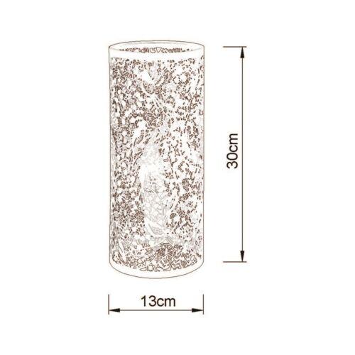 Decorative Desk Lamp in Brass//Ivory Stunning Light Effect Gardenia Range by N.L.