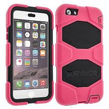 Griffin Survivor All Terrain Case Cover for iPhone 6Plus / 6SPlus Rose/Black