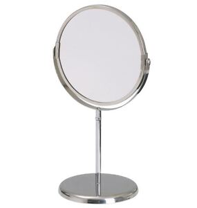 mirror on stand. image is loading ikea-trensum-stainless-steel-round-mirror-with-stand- mirror on stand k